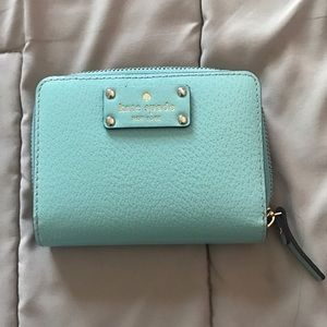 "NWT Kate Spade ""Cara"" Wallet in Tiffany Blue"